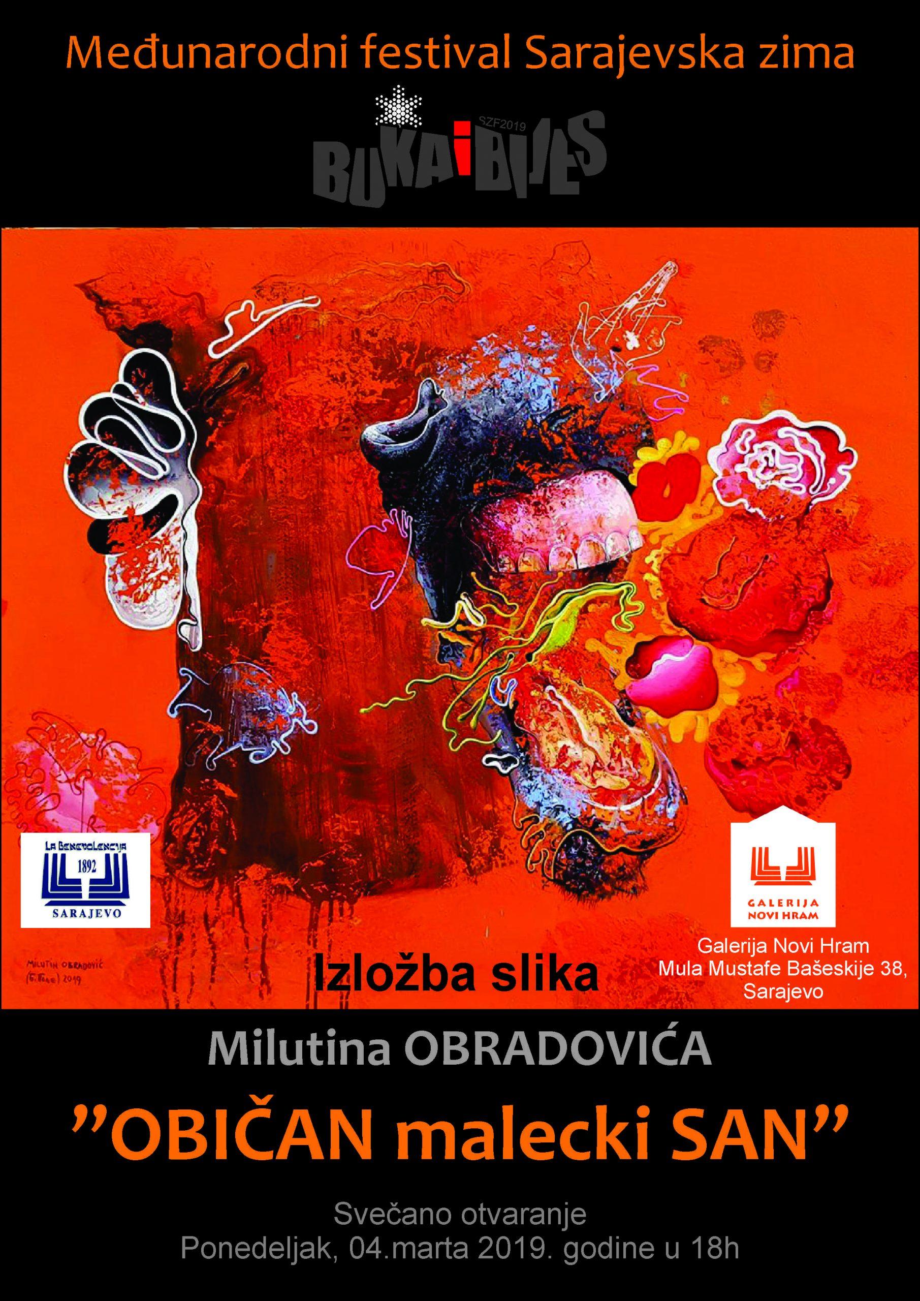 Картины из выставки – Галерея Нови Храм Сараево 04.03.2019